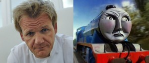 Was Gordon Ramsey based on Gordon the Tank Engine?