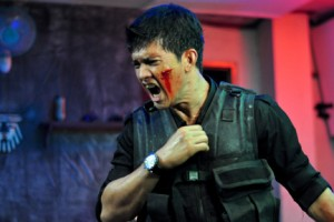 Iko Uwais as Rama in ``The Raid.''
